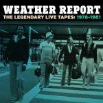 未発表ライヴ音源を4枚組で発売!Weather Report / The Legendary Live Tapes 1978-1981